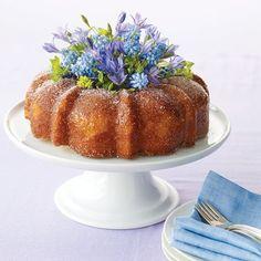 Bundt Cake Bouquet Centerpiece - Recipes, Crafts, Home Décor and More | Martha Stewart