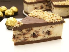 Tasty details: Tarta de Ferrero Rocher y nutella