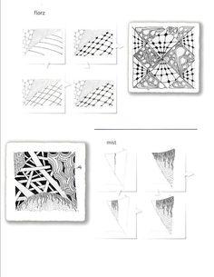 Zentangle Pattern Gallery | Zentangle Pattern Gallery | Printable zentangles - InfoCap Ltd.