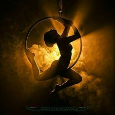 Beautiful Lyra aerial hoop photo