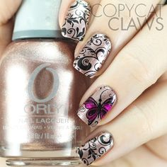 Copycat Claws: 30 Minute Stamping Mani