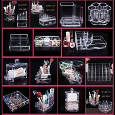 Acrylic Makeup Organizer Target New Cosmetic Cotton Bud Holder Or General Storage Target  Inspirations Review