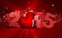 szív, 2015, Karácsony, Szilveszter, számok, új év