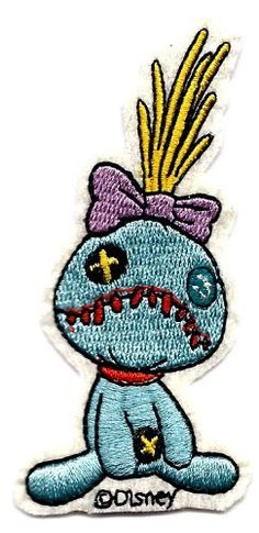 Scrump Doll in Disney's Lilo & Stitch Movie Embroidered Iron On / Sew On Patch by Disney, http://www.amazon.com/dp/B0079TA8FC/ref=cm_sw_r_pi_dp_UyOXrb03SCDGQ