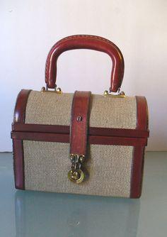 Vintage Etienne Aigner Doctor s Style Handbag c1c480158bed1