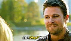 Felicity Smoak asking Oliver Queen to marry her in Crisis on Earth-X.