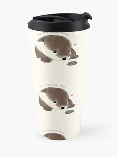 beanming shop | Buy this cutest sea river otter with paws and his favorite rock minimal tumbler home decoration design . This is a perfect gift for pet, animal, or otter lovers #beanming #bibis #otter |cute otter | Cute animals | Cute illustration | Cute Design | Cute home decor | Aesthetic design | sea otter river otter| Cute otter Drawing | Cute tumbler |