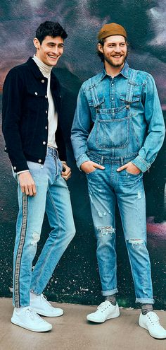 ce6ced80dd7 A denim jacket outfit is easy to style. Street wear made right. See more