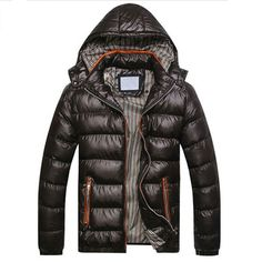 Hooded Fashion Winter Men's Down Jacket – WILLSTYLE