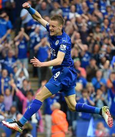 Jamie Vardy of Leicester FC