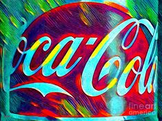 Poster Mixed Media - Coke Coca Cola by Daniel Janda