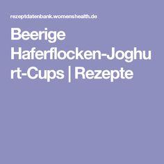 Beerige Haferflocken-Joghurt-Cups   Rezepte