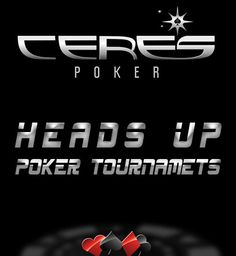 Online Heads Up poker tournaments has a unique structure & pay style. Play Heads Up tournaments, eliminate your opponents one at a time & move closer to win a big pot. link: http://www.cerespoker.com/tournaments/heads-up.html