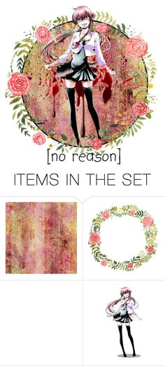 """[No Reason]"" by sky-blue-loving-otter ❤ liked on Polyvore featuring art"