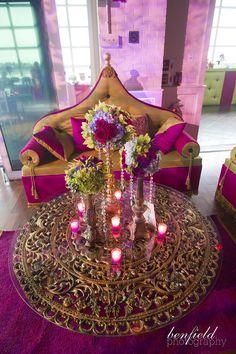Beautiful! Benfield Photography Blog: Indian Wedding decor (Sangeet)