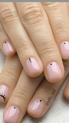36 Amazing Beautiful Nails Designs - Queen's TOP 2019 Best Nail Designs of 2019 . - Nail Design Ideas, Gallery of Best Nail Designs Cute Nails, Pretty Nails, My Nails, S And S Nails, Fail Nails, Beautiful Nail Designs, Cool Nail Designs, Art Designs, Natural Nail Designs