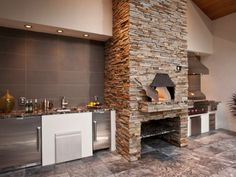 Latest in Gourmet Kitchen Design: Wood Burning Pizza Ovens -