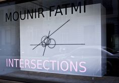 The Death Of The Straight Line // Mounir Fatmi
