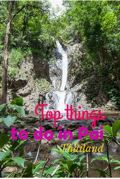 Pai - Thailand, is one of the most beautiful, friendly and enchanting places in the whole country. Pai Thailand, Thailand Travel, Asia Travel, Phuket Travel, Koh Phangan, Pattaya, Travel Around The World, Around The Worlds, Burma