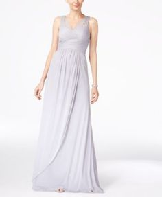 Adrianna Papell Ruched Embellished Gown | macys.com