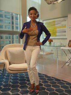 Love Jeannie Mai's style