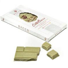 """CiokkoBacco"" Cioccolato al pistacchio - siciliainweek.it http://www.siciliainweek.it/it/dolci-natalizi-siciliani-panettone-al-pistacchio-/289-ciokkobacco.html"