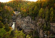 18. Linville Falls was also a filming location. Besides breathtaking waterfalls, Linville has some beautiful hiking trails.