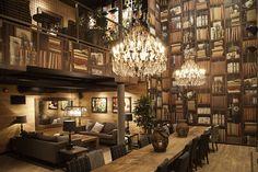 Wallapaper concept and design in over 100 Espresso House | Jonte C.O.A.H.O.C | Archinect