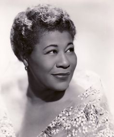Ella Fitzgerald (The First Lady of song and the Queen of Jazz.  Honorary member of Alpha Kappa Alpha Sorority, Inc.)
