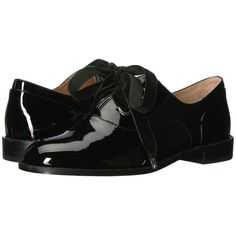 Shellys London Frankie Oxford (Black) Women s Shoes ( 81) ❤ liked on  Polyvore featuring shoes ea98741913c4