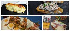 10 recetas de tostas con conservas de pescado Tapas, Baked Potato, Sushi, Potatoes, Meat, Chicken, Baking, Ethnic Recipes, Food