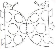 Dibujos recortables de animales para colorear
