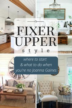 Do you want to add Fixer Upper style to your home but aren't sure where to start? Follow along in this series and I'll show you how! | http://www.theharperhouse.com