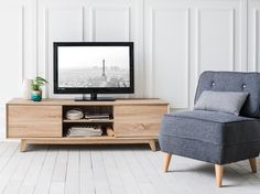 Un meuble TV aux airs nordiques
