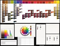 Paul mitchell the color xg color chart i luv m beauty parlour