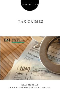 Tax crimes are a type of white-collar crime, and the penalties for failing to pay your taxes can be quite severe. Credit Suisse, Criminal Law, Central Bank, Global Economy, White Collar, Business News, Stock Market, The Borrowers, Crime
