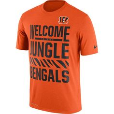 Cincinnati Bengals Nike Legend Local Fans Performance T-Shirt - Orange - $31.99