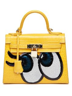 [Pre-Order]  Playnomore Be shy girl shoulder bag yellow