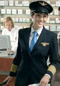 Air line Captain. Airline Attendant, Flight Attendant, Women Ties, Suits For Women, Celebrity Summit, Female Pilot, Military Women, Girls Uniforms, Super Hero Costumes