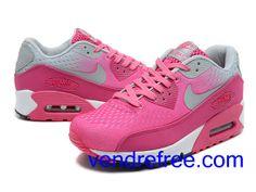 hot sales bcf28 e5453 Vendre Pas Cher Femme Chaussures Nike Air Max 90 (couleur blanc,rose,