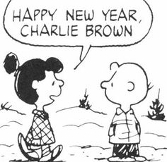 January 01, 1982 - Violet: Happy New Year, Charlie Brown