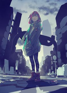 (/*-*)/Anime art(*-*)