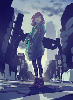 (/*-*)/Anime art\(*-*\)