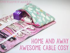 Live it . Love it . Make it.: Makers Month: Make it: Cable Cozy + free PDF download