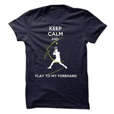 Play to my forehand - #design t shirt #boys hoodies. PURCHASE NOW => https://www.sunfrog.com/No-Category/Play-to-my-forehand.html?60505