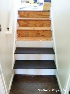 Paint the stairs pretty!