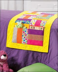 very cute and functional bed runner