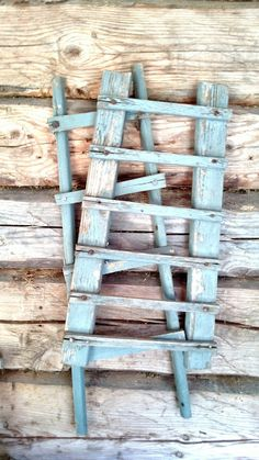 Old little laundry drying racks