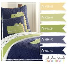color combo from photocardboutique