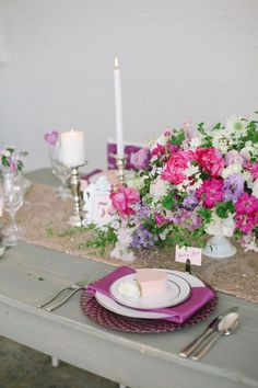 Radiant Orchid Wedding Inspiration: Michelle Leo Events - Jacque Lynn Photography